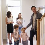 bigstock Realtor Showing Young Family A 138196289