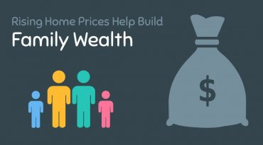 Rising Home Prices Help Build Family Wealth